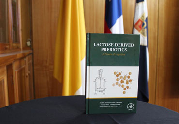 "Presentan libro ""Lactose-Derived Prebiotics: A process perspective"""