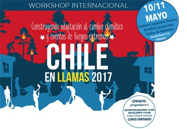 "Workshop internacional ""Chile en llamas 2017"""